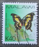 Poštovní známka Malawi 2007 Papilio pelodorus Mi# 788 Kat 2.50€