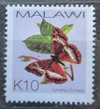 Poštovní známka Malawi 2002 Cymothoe zombana Mi# 717