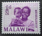 Poštovní známka Malawi 1964 Matka s dítětem Mi# 1