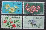 Poštovní známky Malawi 1968 Květiny Mi# 80-83