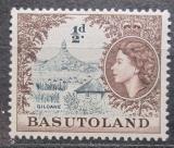 Poštovní známka Basutsko, Lesotho 1954 Hora Mt. Qiloane Mi# 46