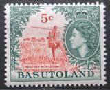 Poštovní známka Basutsko, Lesotho 1962 Pastevec Mi# 77