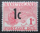Poštovní známka Basutsko, Lesotho 1961 Doplatní přetisk Mi# 5
