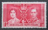 Poštovní známka Bečuánsko, Botswana 1937 Královský pár Mi# 98