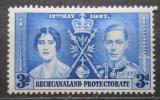 Poštovní známka Bečuánsko, Botswana 1937 Královský pár Mi# 100