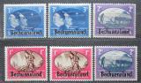 Poštovní známky Bečuánsko, Botswana 1945 Vítězství aliance Mi# 112-17