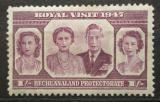 Poštovní známka Bečuánsko, Botswana 1947 Královská rodina Mi# 121