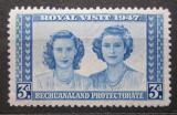 Poštovní známka Bečuánsko, Botswana 1947 Princezny Alžběta a Margaret Mi# 120