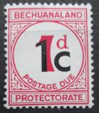 Poštovní známka Bečuánsko, Botswana 1961 Doplatní Mi# 7 w II