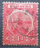 Poštovní známka Bermudy 1908 Přístav Mi# 32