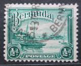 Poštovní známka Bermudy 1936 Jachta Mi# 89