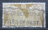 Poštovní známka Bermudy 1953 Lilie dlouhokvětá Mi# 130
