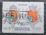 Poštovní známka Bermudy 1959 Státní znak Mi# 159