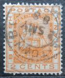 Poštovní známka Britská Guiana 1882 Fregata, pečeť kolonie Mi# 61
