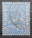 Poštovní známka Britská Guiana 1891 Fregata Mi# 85