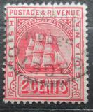 Poštovní známka Britská Guiana 1907 Fregata Mi# 113