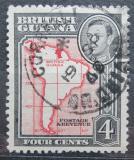 Poštovní známka Britská Guiana 1938 Mapa Jižní Ameriky Mi# 178