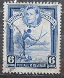 Poštovní známka Britská Guiana 1949 Tradiční rybolov Mi# 179 C