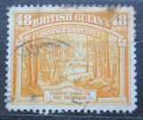 Poštovní známka Britská Guiana 1951 Silnice v lese Mi# 182 D