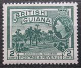 Poštovní známka Britská Guiana 1954 Botanická zahrada Mi# 200