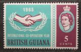 Poštovní známka Britská Guiana 1965 OSN, 20. výročí Mi# 234