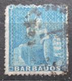 Poštovní známka Barbados 1861 Britannia Mi# 7 A Kat 3.50€
