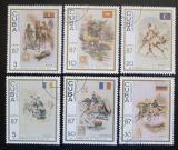Poštovní známky Kuba 1987 Výstava CAPEX Mi# 3102-07