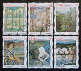 Poštovní známky Kuba 1979 Umění Mi# 2404-09