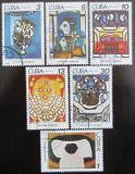 Poštovní známky Kuba 1978 Umění, Amelia Casal Mi# 2337-42