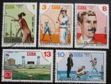 Poštovní známky Kuba 1974 Historie baseballu Mi# 2005-09