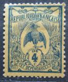 Poštovní známka Nová Kaledonie 1905 Kagu chocholatý Mi# 87