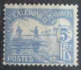 Poštovní známka Nová Kaledonie 1906 Muži na lodi, doplatní Mi# 9