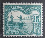 Poštovní známka Nová Kaledonie 1906 Muži na lodi, doplatní Mi# 11