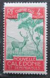 Poštovní známka Nová Kaledonie 1928 Sambar indický, doplatní Mi# 20