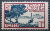 Poštovní známka Nová Kaledonie 1928 Záliv Pointe des Palétuviers Mi# 136