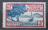 Poštovní známka Nová Kaledonie 1940 Záliv Pointe des Palétuviers Mi# 222