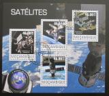 Poštovní známky Mosambik 2014 Vesmírné stanice Mi# 7680-83 Kat 10€