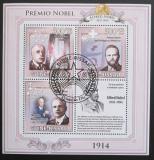 Poštovní známky Guinea-Bissau 2009 Nobelova cena Mi# 4538-40 Kat 8€