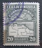 Poštovní známka Venezuela 1930 Letadlo a mapa Mi# 135 Kat 6€