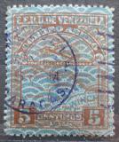 Poštovní známka Venezuela 1932 Letadlo a mapa Mi# 151