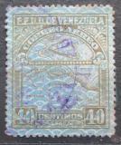 Poštovní známka Venezuela 1932 Letadlo a mapa Mi# 155