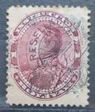 Poštovní známka Venezuela 1900 Simón Bolívar, kolkovací přetisk Mi# 68