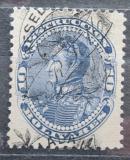 Poštovní známka Venezuela 1900 Simón Bolívar, kolkovací přetisk Mi# 70