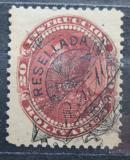 Poštovní známka Venezuela 1900 Simón Bolívar, kolkovací přetisk Mi# 71 Kat 7.50€