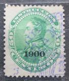 Poštovní známka Venezuela 1900 Simón Bolívar přetisk Mi# 75