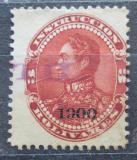 Poštovní známka Venezuela 1900 Simón Bolívar přetisk Mi# 77
