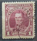Poštovní známka Venezuela 1904 Simón Bolívar, kolkovací Mi# 94