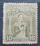 Poštovní známka Venezuela 1914 Simón Bolívar, kolkovací Mi# 108