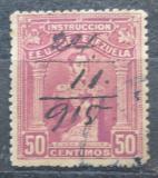 Poštovní známka Venezuela 1914 Simón Bolívar, kolkovací Mi# 110