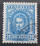 Poštovní známka Venezuela 1911 Simón Bolívar, kolkovací Mi# 106